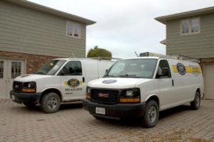 Van Leeuwen Plumbing & Heating Van